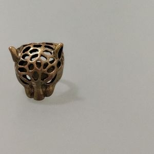 🦊🟢Tiger bronze colored ring